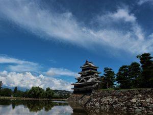 松本城の夏期時間延長2020年