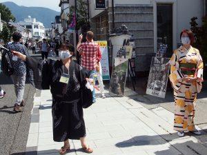 連休のイベントで賑わいが戻った中町通り #松本の街を元気に