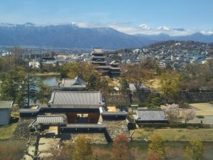 A Different View of Matsumoto Castle