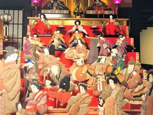 Matsumoto Puppen und Mädchenfest