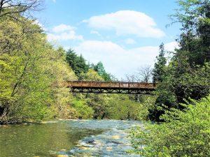 Karasukawa-Flusstal (烏川渓谷緑地)