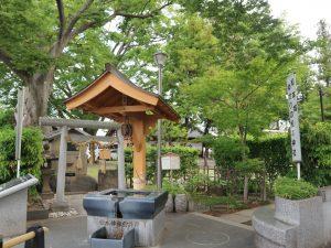 松本神社前井戸
