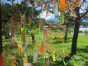 Tanabata Sternenfest in der Baba Residenz (馬場家住宅)