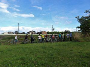 good morningサイクリング#女鳥羽川 秋
